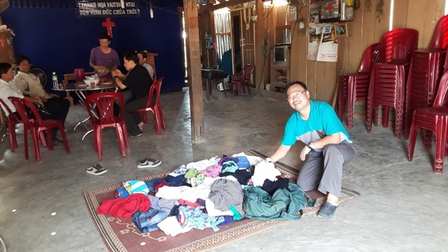 delivering-donated-clothes